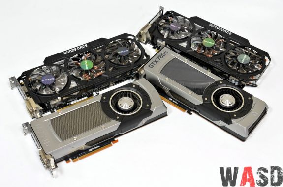 Gigabyte GeForce GTX 780 si 780Ti GHz Edition