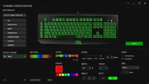 Software Razer Chroma Blackwidow