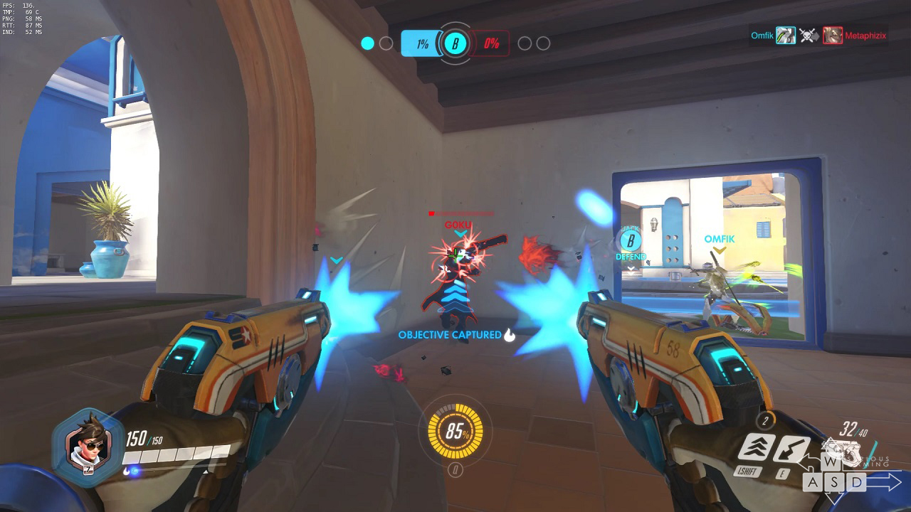 Tracer gameplay