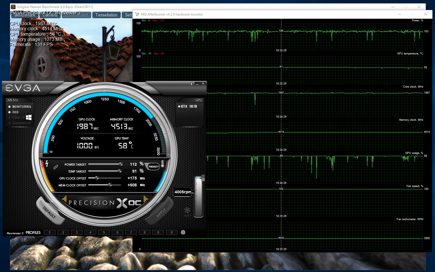 GTX 1070 Founders Edition Overclocking