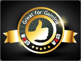 Great for gaming WASD Award