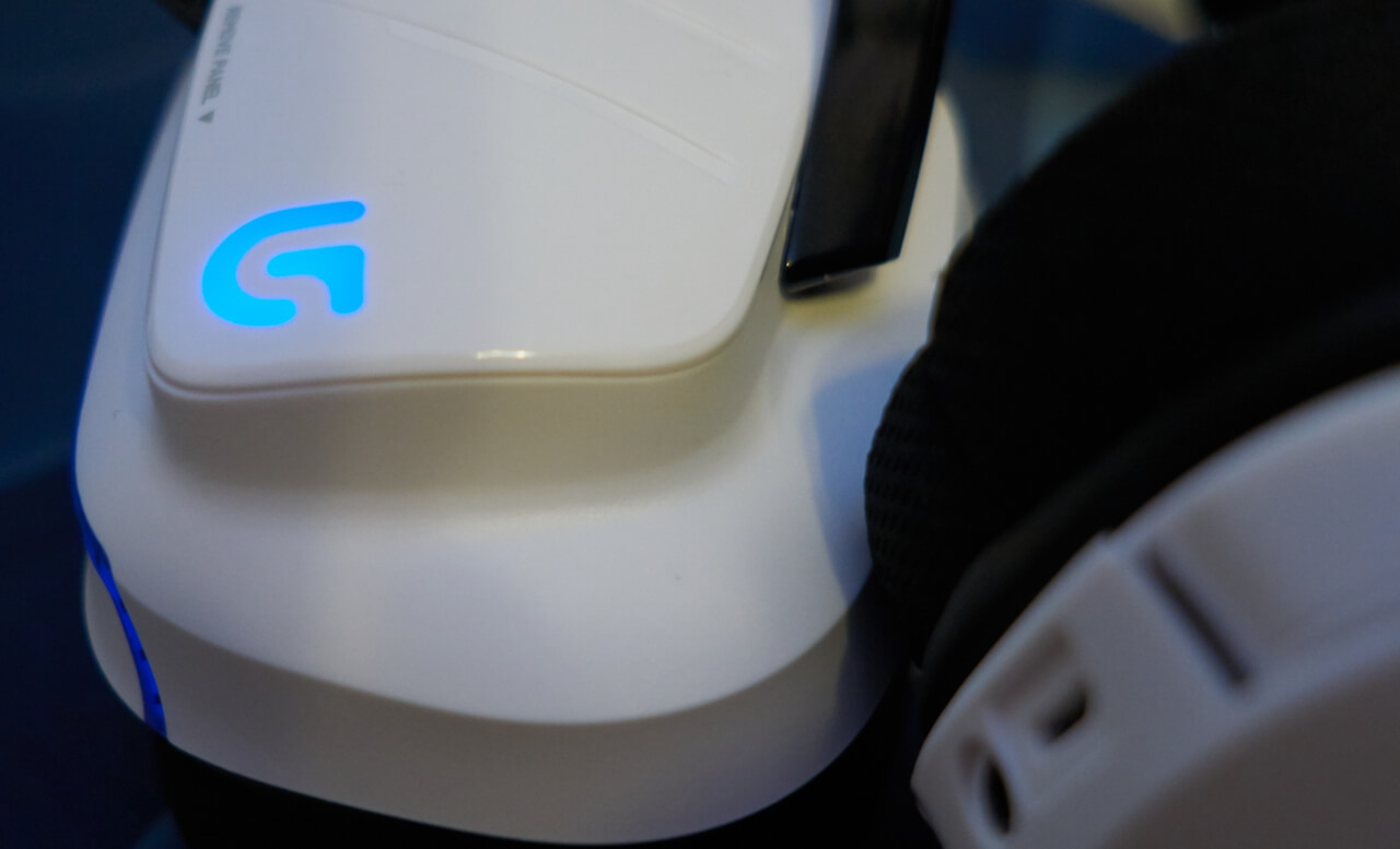 Logitech G933 Artemis Spectrum Snow 7.1 Wireless Gaming Headset