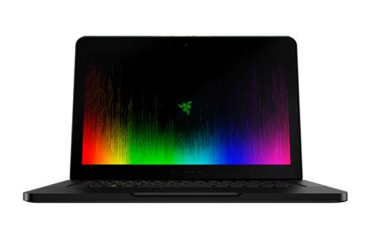 Razer Blade 4k gaming laptop