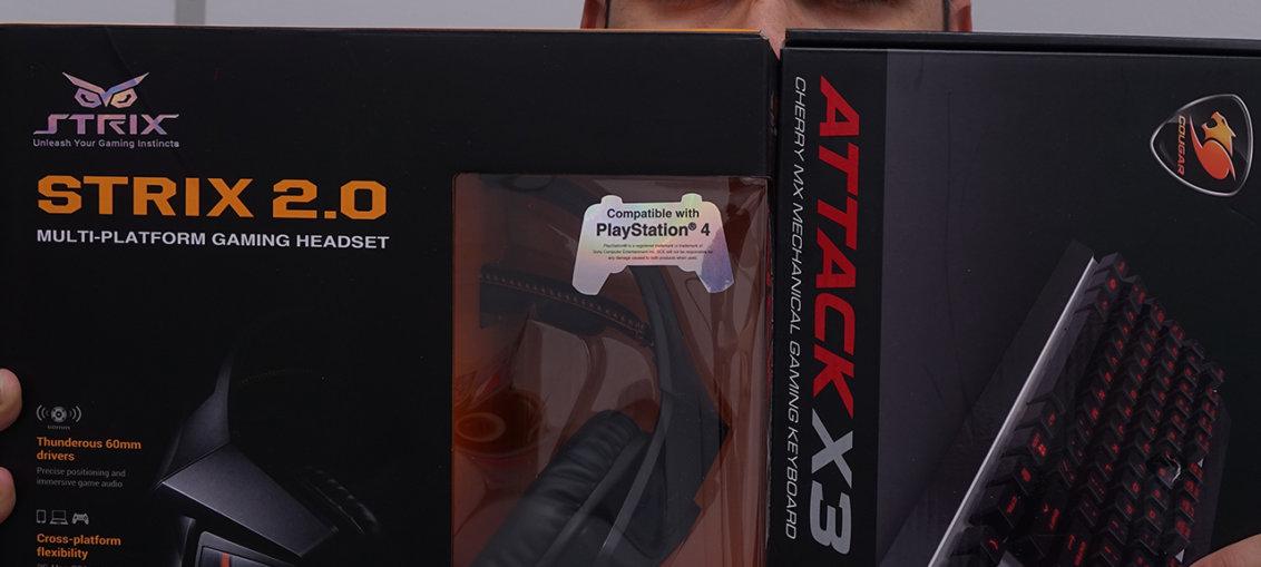 Cougar Attack X3 & Asus Strix 2.0