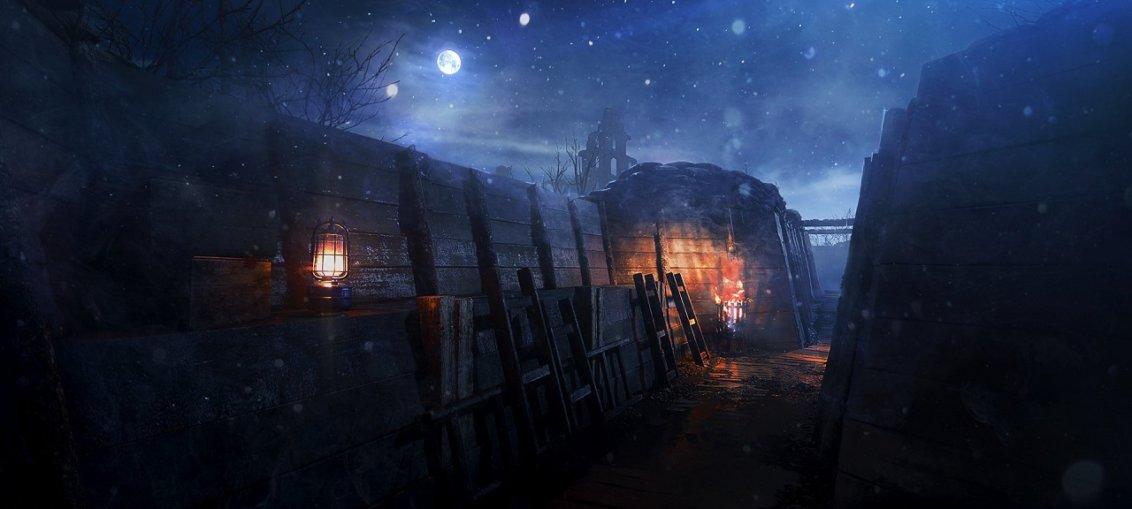 Battlefield 1 night map