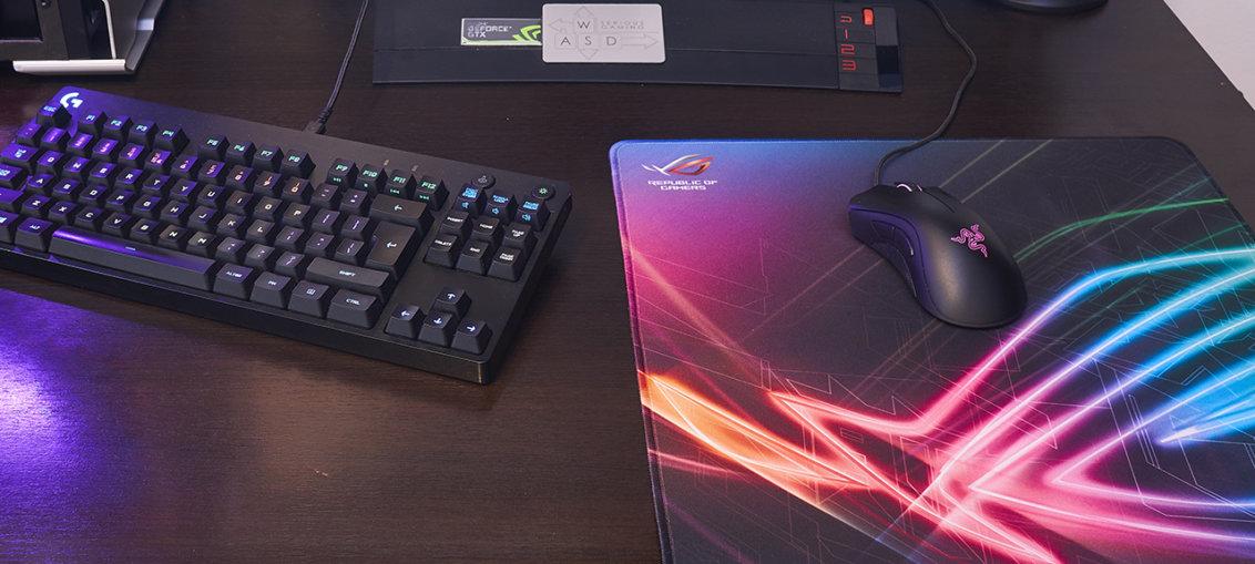 Asus ROG Strix Edge mousepad review | WASD