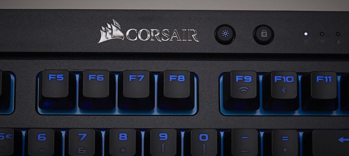Corsair K63 Wireless mechanical gaming keyboard Cherry MX Red review | WASD