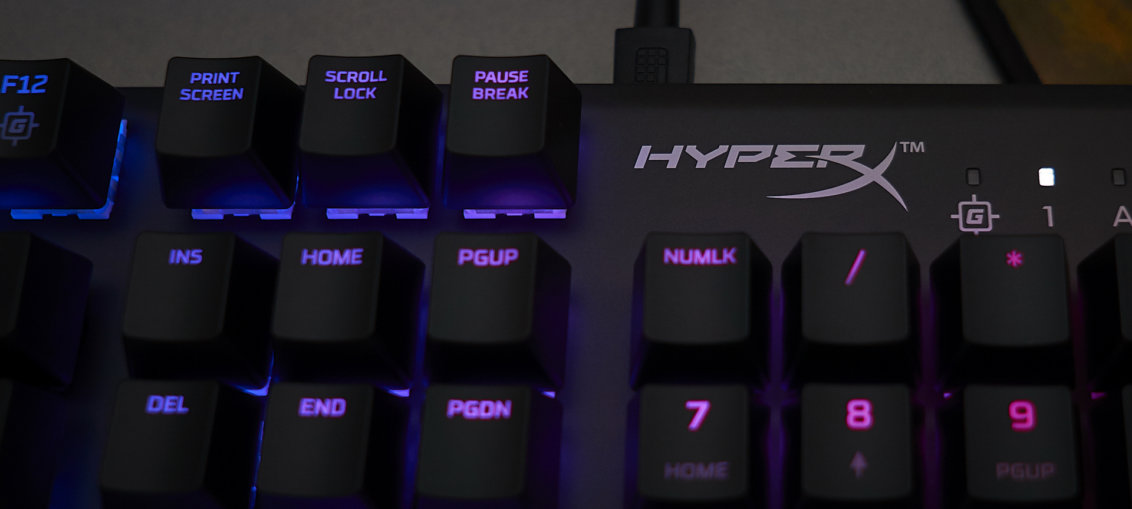 HyperX Alloy FPS - RGB - Kailh Silver Speed review   WASD