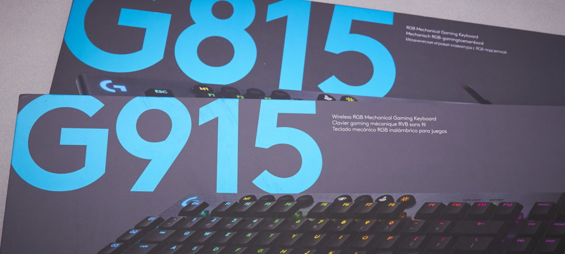 Logitech G815 and G915 review | WASD