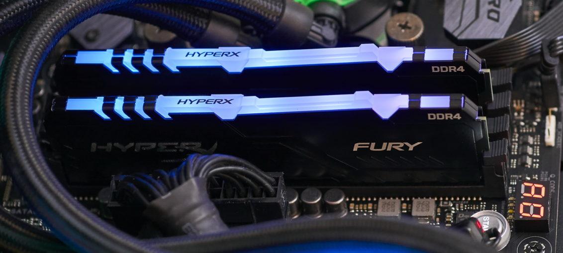HyperX FURY DDR4 RGB Memory 16GB review   WASD