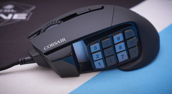 Corsair Scimitar RGB Elite review   WASD