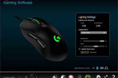 Logitech G403 wired gaming mouse (3/4)