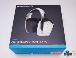 Logitech G933 Artemis Spectrum Snow 7.1 Wireless Gaming Headset (1/18)