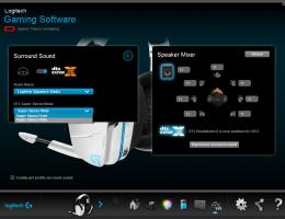 Logitech G933 Artemis Spectrum Snow 7.1 Wireless Gaming Headset (8/9)