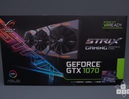 Asus ROG Strix GeForce GTX 1070 (1/9)